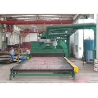 Quality Steel Plate Shot Blasting Machine , Steel Plate Cleaning Machine Rust Removal for sale