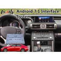 Buy cheap Android 7.1 Car GPS Navigation Box for 2013-2016 Lexus IS 200t Mouse Version from wholesalers