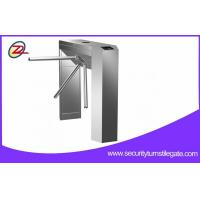 Quality Scenic Ticketing System Automatic Tripod Turnstile Gate with bar code reader for sale