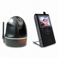 Buy cheap Wireless Security Camera with 2.4-inch LCD Screen and Automatic Channel Switching Scheme from wholesalers