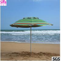 Quality Professional UV Protection Outdoor Parasol Umbrella With Carbon Steel Ribs for sale