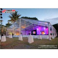 Quality Rustic Outdoor Wedding Marquee Clear PVC Event Party Tent Eco Friendly for sale
