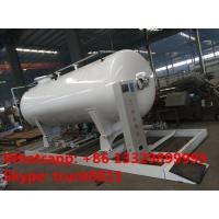 Quality ASME 8m3 skid propane gas refilling plant for sale, hot sale 4MT skid mounted lpg gas tank for gas bottles cylinders for sale