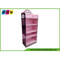 Quality Retail Floor Cardboard Display Stands Install 5 Shelves For Box Packaging Bears FL165 for sale