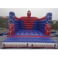 Quality Outdoor Spiderman Inflatable Jumping Castle Bouncy Castle For Kids PVC Tarpaulin for sale