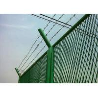 Quality Anti Theft Electro Barbed Wire Mesh Fence Coil With 7.5-15cm Spacing for sale