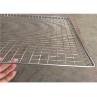 Quality Stainless Steel Wire Mesh Tray Light Weight With Heat Resistant FDA SGS for sale