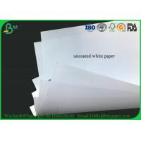 Quality 50g 53g 60g 70g 80g 90g Virgin Wood Uncoated Woodfree Paper White For Textbook for sale