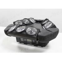 Buy DMX RGBW 4in1 LED Beam Lights , 3*3 10W 9 Heads Moving Spider Beam DJ Bar at wholesale prices