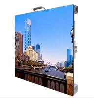 Quality MBI5124IC P4.81 Indoor Advertising Die-casting Aluminum Led Display Screen 500*500mm for sale