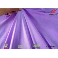 Quality KARL MAYER Warp Knitting Shiny Stretch Lycra Nylon Spandex Swimwear Fabric for sale