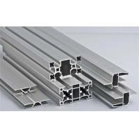 Buy cheap Silver High Durability Aluminum Alloy Profile For Kitchen Slide Door Handle from wholesalers