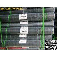 Quality black needle punched woven polypropylene fabric ground cover weed barrier for sale