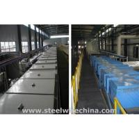 China Tempering tin bronze-plated bead wire production line / Tin bronze-plated line on sale