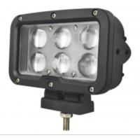 """Quality 7"""" Square Led Marine Searchlight , 30 Degee Spot 12v Truck Led Headlights for sale"""