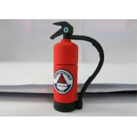 Quality Personalised Red 3.0 Plastic USB Flash Drive , Fire Extinguishing Shape for sale