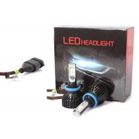 Buy 60 Watt 6500K T8 H8 H9 H11 Led Headlight 8000LM with 6063 Aviation Aluminium at wholesale prices