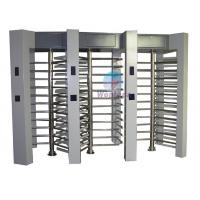 Quality Automatic Full Height Turnstile 304# stainless steel Three Channel Pedestrian Access Gate for sale