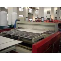 Buy cheap PVC Foam Board Machine For Sign Board Advertising Foamed Board Plastic Extruder from wholesalers