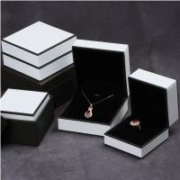 Quality leather cover packaging jewelry plastic box,jewelry box for sale