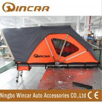 Quality Orange Automotive Roof Mounted Tent 212 * 132cm 250kgs Capacity With Printing Logo for sale