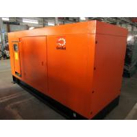 Quality 125KVA 1500RPM Silent Diesel Generator 4 Pole , Silent Electric Generator for sale