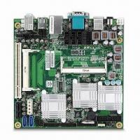 Quality Industrial Mini-ITX Motherboard with Intel Atom N270 and Intel 945GSE + ICH7-M Chipset for sale
