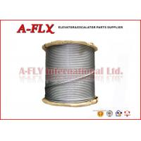 Quality 10mm GoldSun Elevator Steel Wire Rope With Fibre Core 8*19S+FC for sale