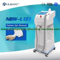 Quality 2019 best seller high quality vertical 600W big spot size laser hair removal machine for sale