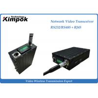 Quality RS-232/RS-485 Network Video Transceiver , Wireless HD Transmitter Two Way Transmission for sale