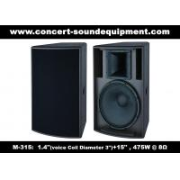 """Quality 475W 1.4"""" + 15"""" Full Range Speaker Sound Equipment For Nightclub , Disco , Conference And Church for sale"""