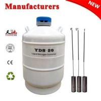 Quality Cryogenic freezer YDS-20L dewar vessel companies in China for sale