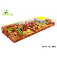 Quality Commercial Centers Baby Indoor Playground Colorful With PVC Soft Covering for sale