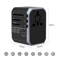 Quality Electrical Multifunction Phone Charger  Travel International Power Adapter for sale