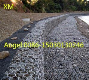 Quality Hot sale 2x1x1 m Hexagonal PVC Coated Gabion mesh/gabion /Gabions Box for sale