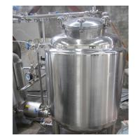 Quality 2000L Industrial Stainless Steel Hot Water Tank 100MM Insulation Thickness for sale