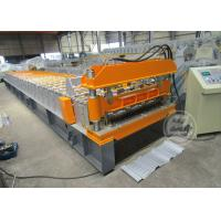 Quality 0.6-0.9MM Cold Rolled Roof Sheet Profile Roll Forming Machine Motor Power 7.5KW for sale