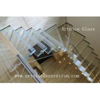 Buy cheap laminated stairs glass, sandwich stairs glass with CE & ISO & AS/NZS2208:1996 from wholesalers