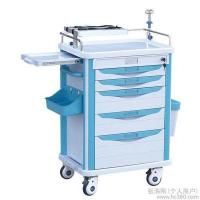 Quality Hospital Stainless Steel Luxury Anesthesia Trolley Emergency Trolley/ First aid, anesthesia, daily care for sale