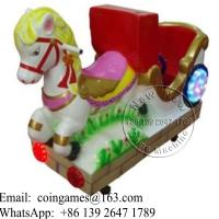 Quality Amusement Park Animal Horse Coin Operated Kiddie Rides for sale