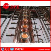 Buy 130gal Wine Copper Distilling EquipmentAlcohol Distiller Semi - Automatic at wholesale prices