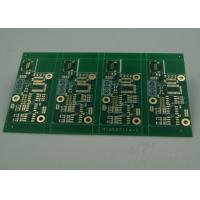 Quality High TG Four Layer Matt Green FR4 PCB Board Immersion Gold Finish White Silkscreen for sale