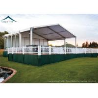 Quality European Style Custom Canopy With Wooden Flooring For Outdoor Event , Customized Tents for sale