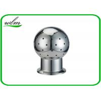 Quality Fixed Tank Sanitary Stainless Steel Spray Ball With Tri Clamp Connection End for sale