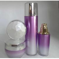 Quality 30ml 100ml empty plastic cosmetic bottle with gold pump for sale