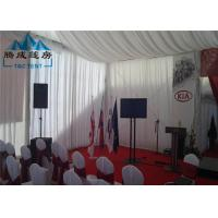 Buy Snow Load Marquee Canopy Tent Sound Insulation With Double PVC Coated Cover at wholesale prices