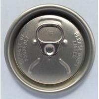Quality Black Gold Coke Can Lids , Soda Can Cap Lids 202 206 200 Carbonated Drink for sale