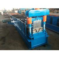 Quality Hydraulic Cutting Metal Cold Hat Purlin Roll Forming Machine , Material Thickness 1-3mm for sale