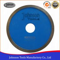 China GB General Purpose Saw Blades 105mm - 300mm Sintered Continuous Rim Diamond Saw Blade on sale