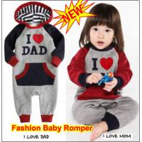 Buy cheap Baby Infant Long Sleeves Onesie Bodysuit Romper Jumpsuit One-Piece Coverall from wholesalers